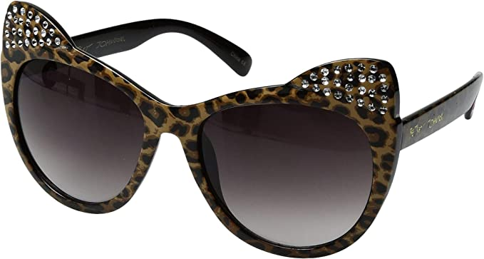 f40eec5bbc0 Amazon.com  Betsey Johnson Women s BJ869101 Leopard One Size  Clothing