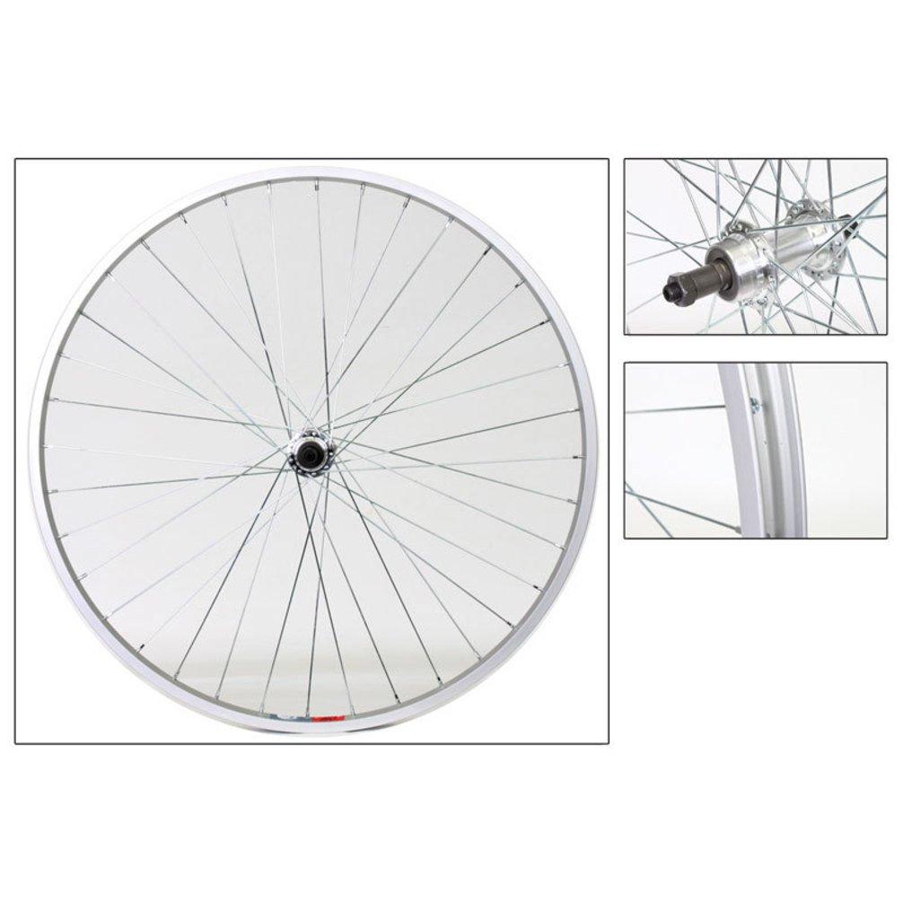 Weinmann 519 Hybrid Bike 700c Alloy Front Wheel Silver QR 36-Hole Hub