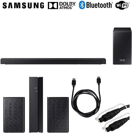 Samsung HW-Q60R 360 W Virtual 5.1 canales sistema de barra de sonido + altavoces traseros