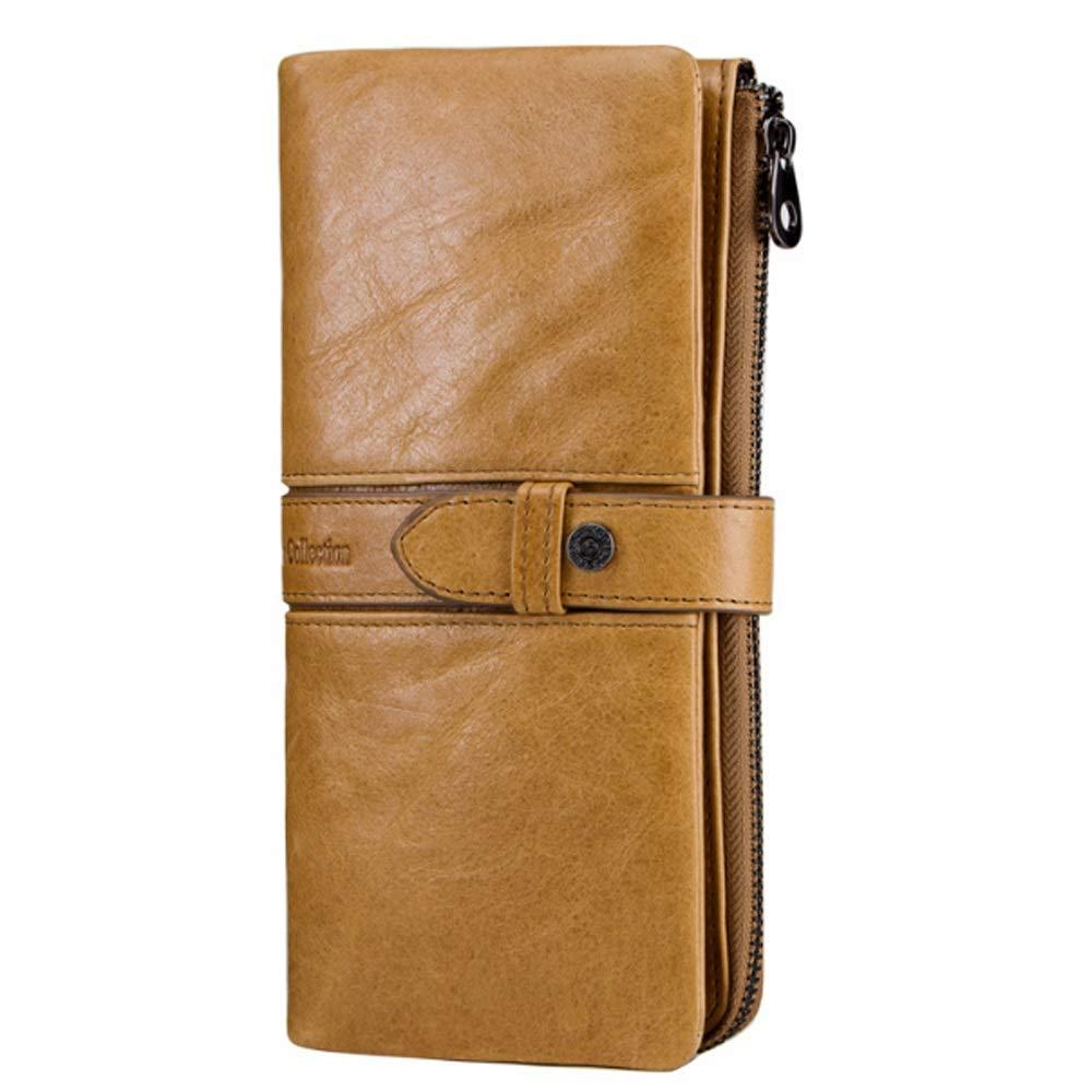 cc69d12c9af05 HHF Brieftasche Brieftasche Brieftasche   Geldb ouml rsen Casual Buckle  Long Clutch Damen Leder Geldb ouml rse B07L7L48NZ Geldbrsen aeb88f