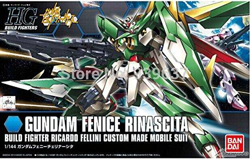 Bandai HGBF 017 1/144 FENICE RINASCITA newborn / regeneration Phoenix Flying Wing Gundam/4 inch