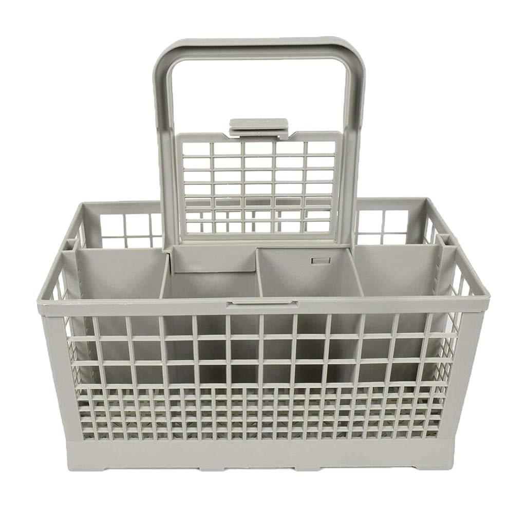 Fenteer Universal Parts Plate Container Dishwasher Storage Box Tableware Organizer, fits Kenmore, Whirlpool, Bosch, Maytag, KitchenAid, Maytag, Samsung, GE