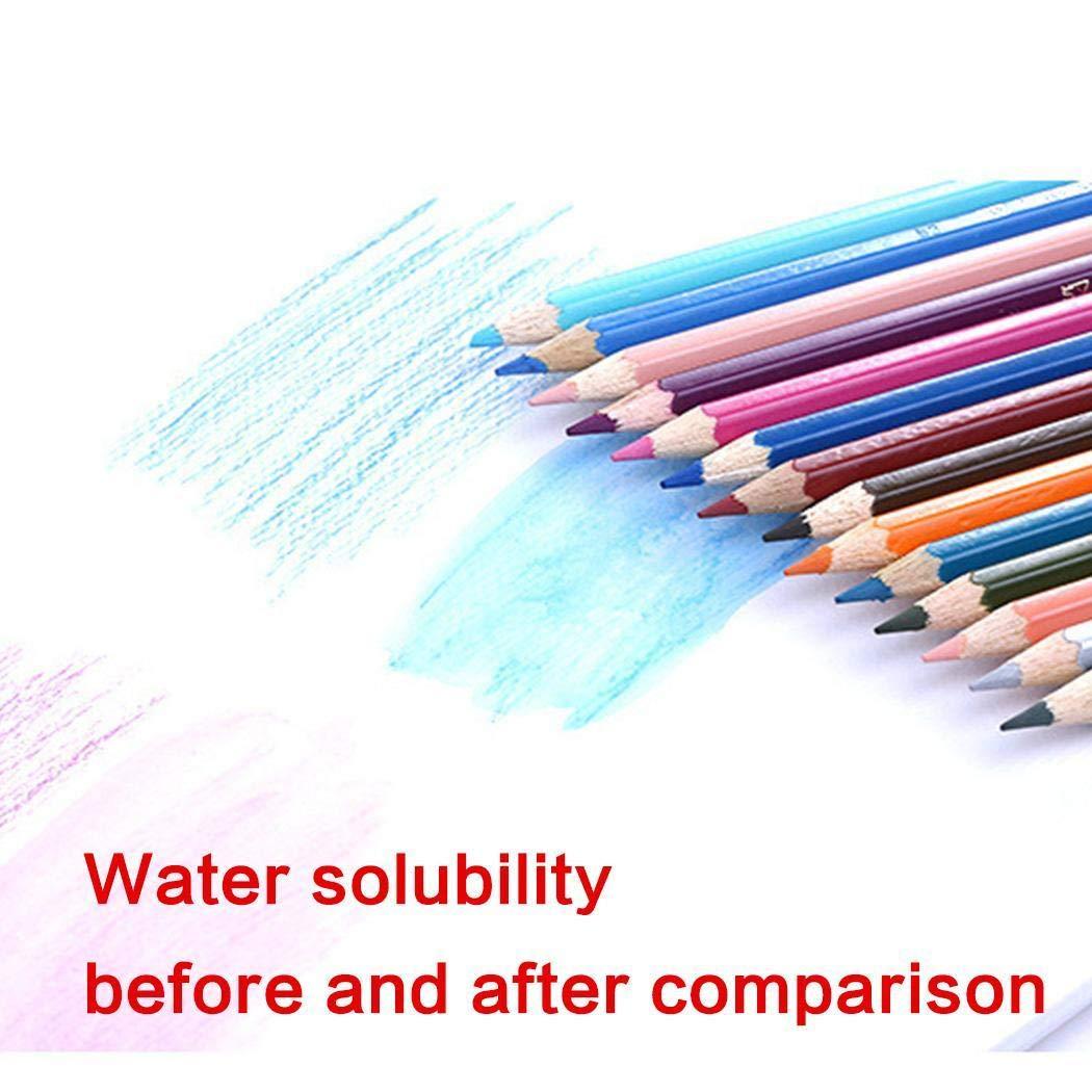 Goodfans 高品質絵画オフィスステーショナリー 水溶性カラフル鉛筆 1Pcs 1Pcs  B07H3LRR6F