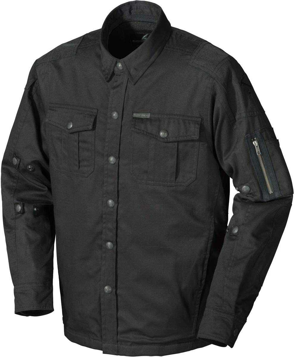 Scorpion Abrams Riding Shirt Black Medium