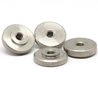 bru/ñido de madera maciza de acero DIN 467 -- Tuerca moleteada M4 el soporte de metal cantidad disponible