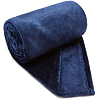 Ultra Soft Flannel Fleece Throw Blanket for Bed, Couch, Car, Office, Camping Travel and Gifts