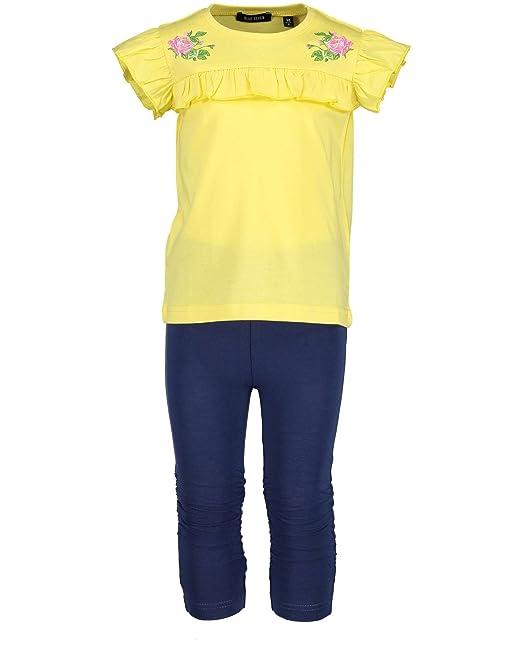 8ac3fc770a1de3 Blue Seven Blue Seven Mädchen Sommer Set Gr.92-128 Shirt und Caprihose T- Shirt Neu! Bekleidungssets  Amazon.de  Bekleidung