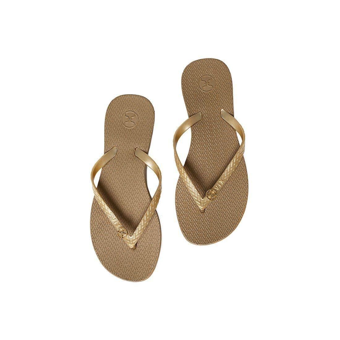 ViX Solid Gold Sandal