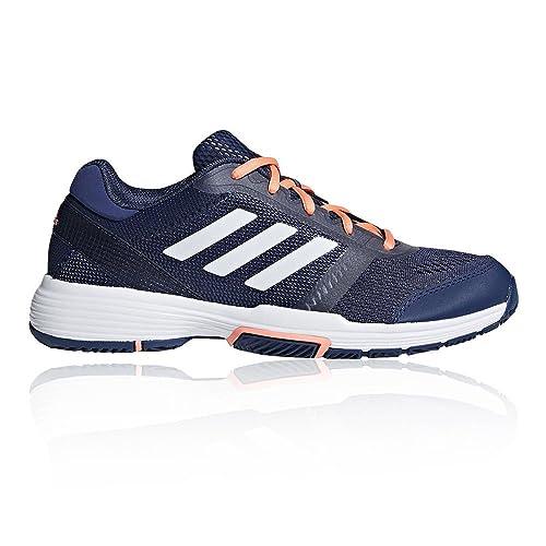 adidas Shoes - Zapatillas de Soft Tennis de Material Sintético Para Hombre, Color Azul, Talla 38