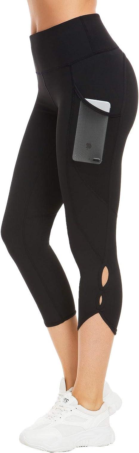 QUEENIEKE Pantalones de Mallas de Yoga de Cintura Alta para Mujeres Pantalones de Mallas para Correr