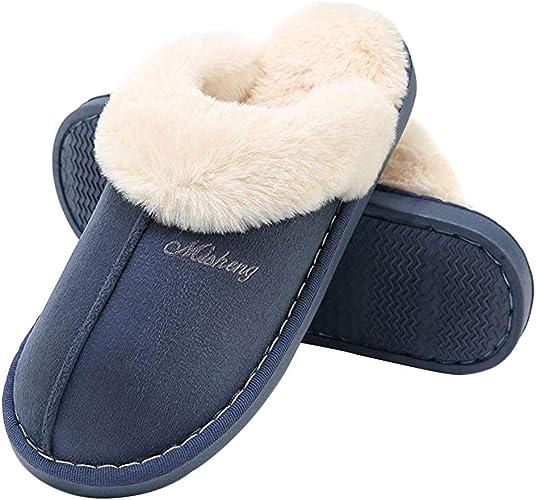 Poliking Warm Suede Mule Slippers