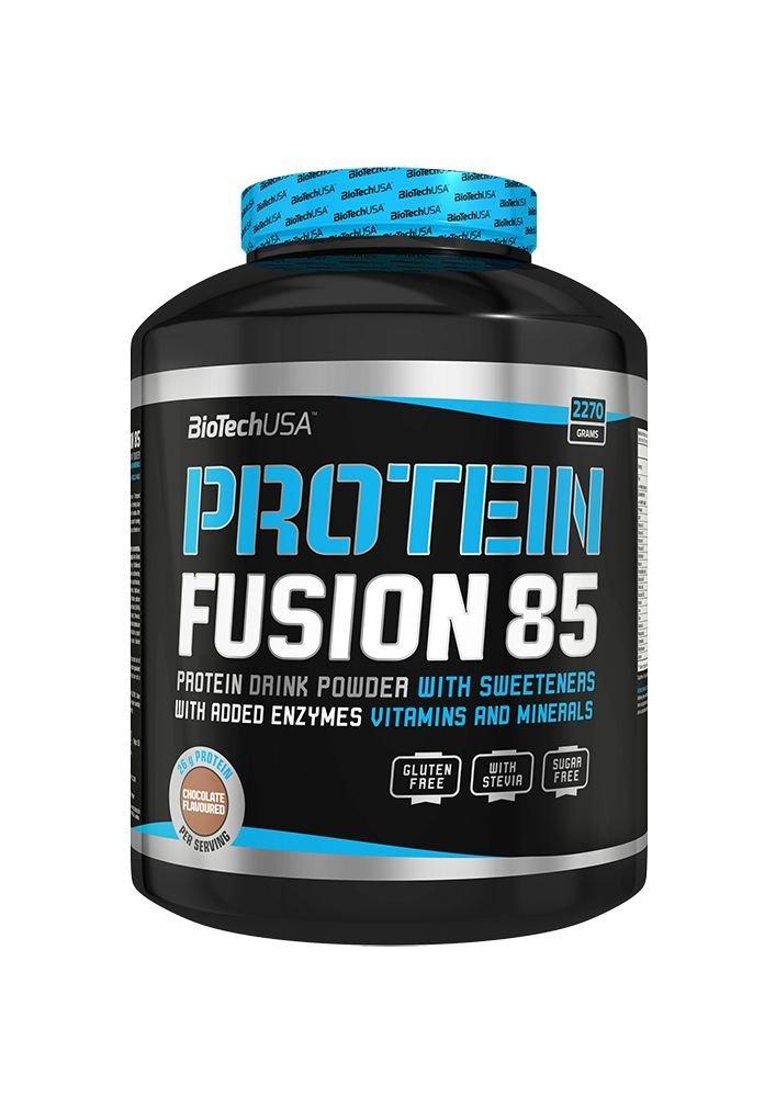 BioTech Fusion 85 Proteínas Sabor Strawberry - 454 gr