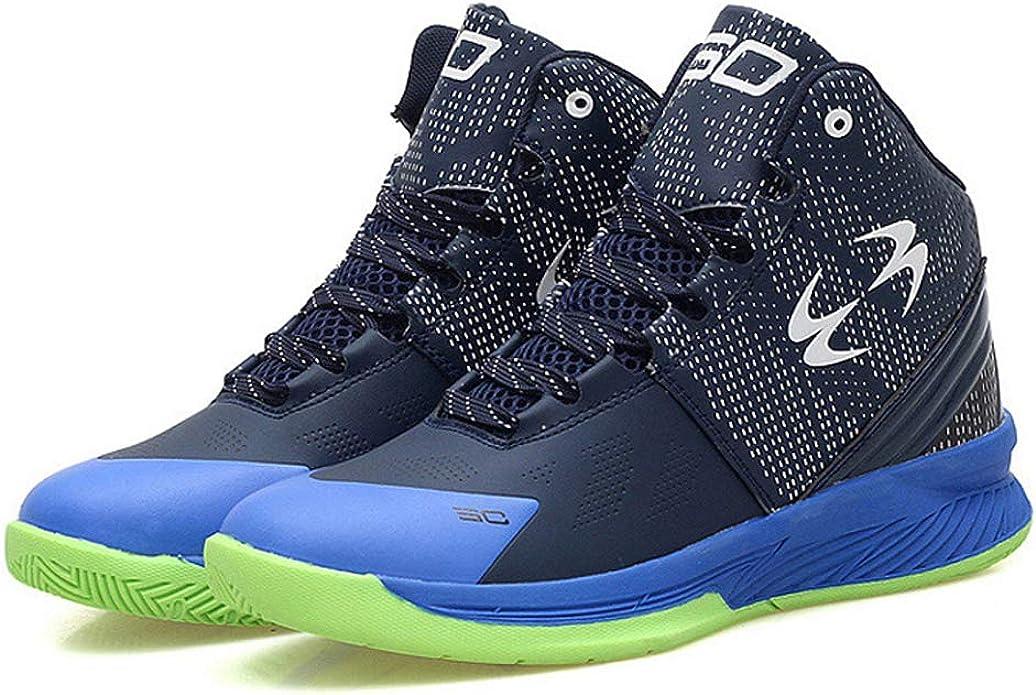 Zapatillas de Running Ligeras y Ligeras Zapatillas de Baloncesto Superiores Impermeables al Aire Libre Zapatillas de Deporte Transpirables: Amazon.es: Zapatos y complementos