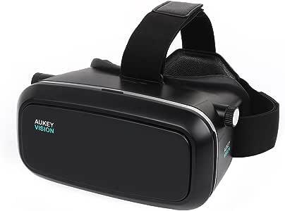 AUKEY 3D VR - Gafas de Realidad Virtual Ajustable para Películas ...