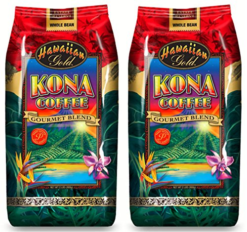 Hawaiian Gold Kona Whole Bean Coffee