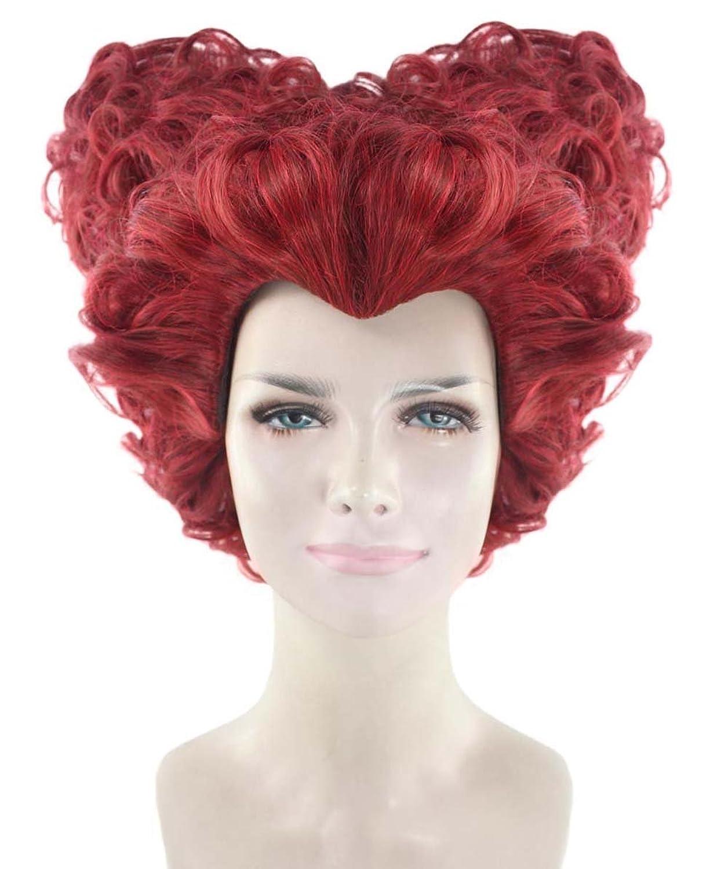 Deluxe Queen of Hearts Red Wig