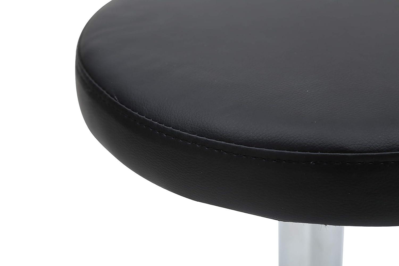Dimensioni: 33x33x46.5-61 cm Design Leggero e Ortopedico Sedile Girevole e Altezza Regolabile Imbottitura in Schiuma 5 cm Mari Lifestyle Sgabello Professionale per Massaggi Alzata a Gas