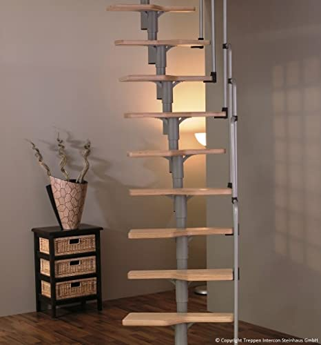 Minka - READY Painted - Space Saver Staircase Kit Twister with 30 mm ...