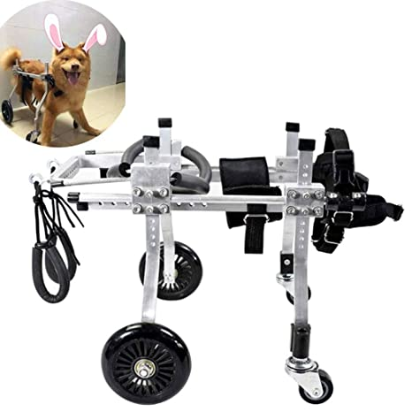 Dog wheelchair Best Friend — Pet Sillas de Ruedas para Perros con Cuatro Ruedas, Silla