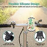 Bovon Bike Phone Mount, 360° Rotation Silicone