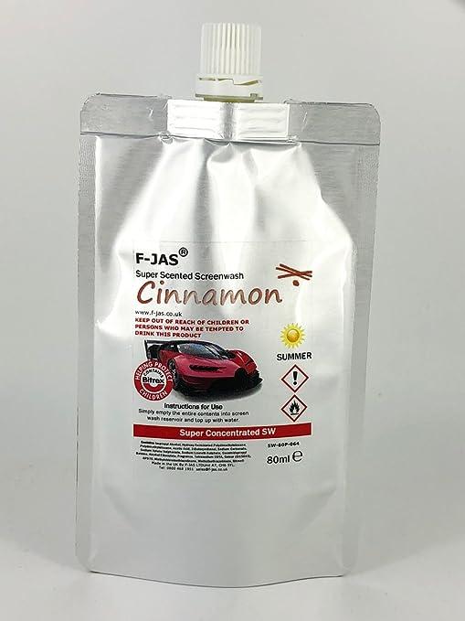 F-JAS Super aromática Verano Bolsa de limpiaparabrisas (80ml)