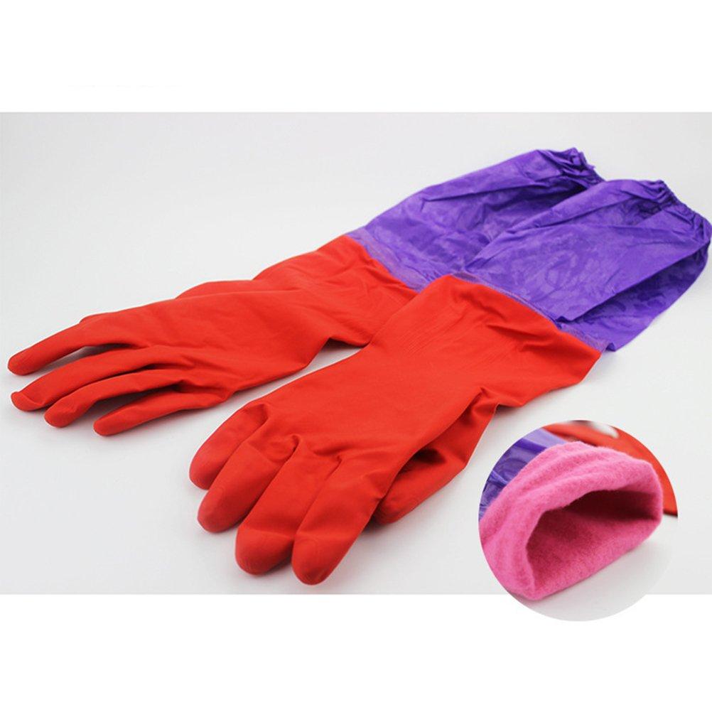 ueetek Acuario Water Change Guantes par de guantes Codos Longitud resistente de agua: Amazon.es: Productos para mascotas