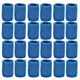 Unique Sports Athletic Performance Team Pack of 24 Wristbands (12 pair)