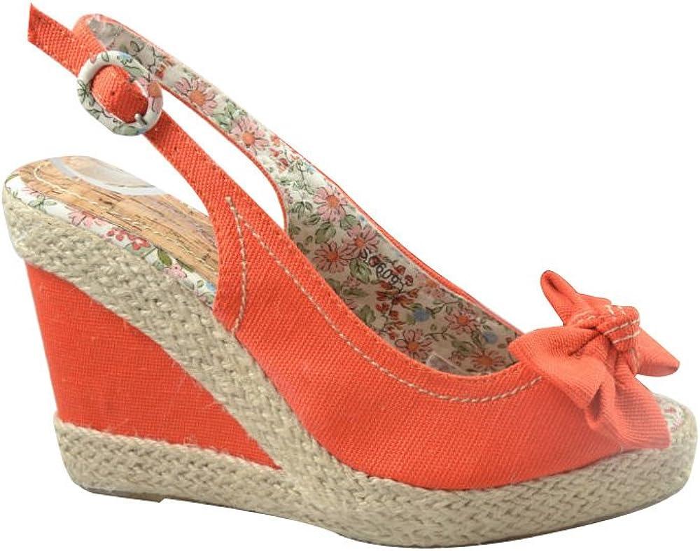 Jennika London New Ladies Wedge Sandals