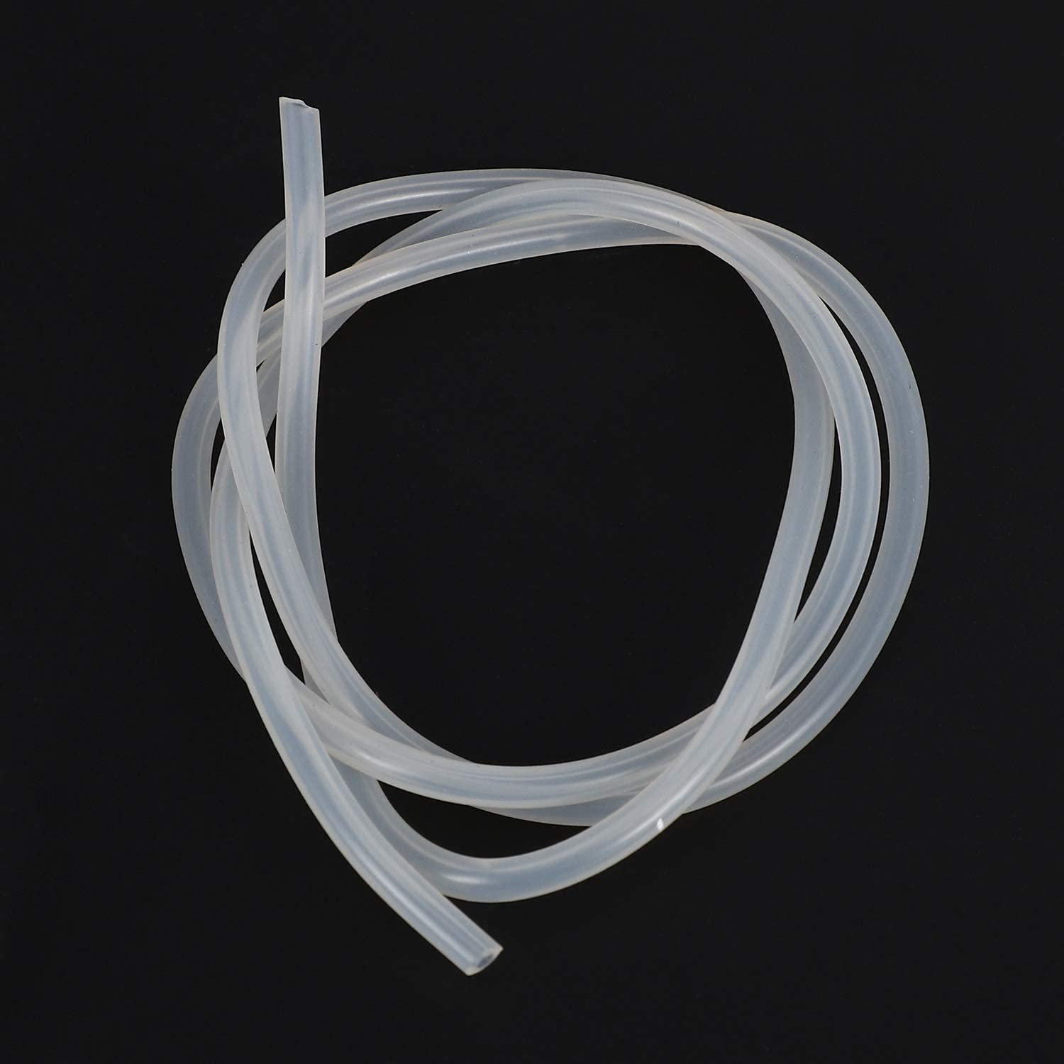Fauge 100CM RC Car Fuel Gasoline Hose Silicone Hose for 1//10 1//18 Truck Track Accessories White