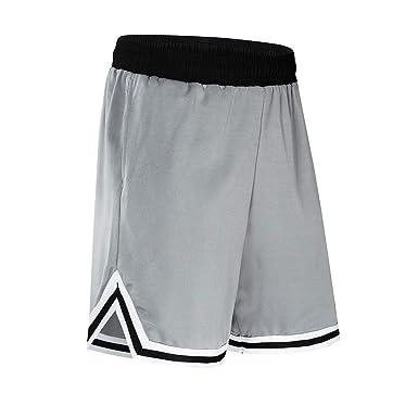 BAACD Pantalones Cortos de Baloncesto para Hombres niños con ...