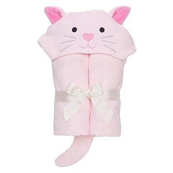 Amazon Com Elegant Baby Bath Time Gift Hooded Towel Wrap Pink