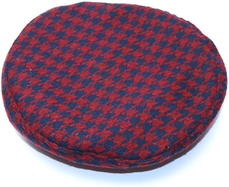 Winter Plaid Beret Hats...