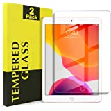 "[2 Pack] Apple iPad 7 /7th Gen 10.2"" 2019 Tempered Glass LCD Scratch Resist Tempered Glass LCD Screen Protector Film Guard (2 Pack)"