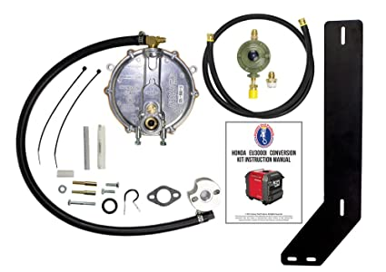 Honda Eu3000iS Generator Propane / Natural Gas Conversion Kit With Propane  Connection Hose And Regulator.