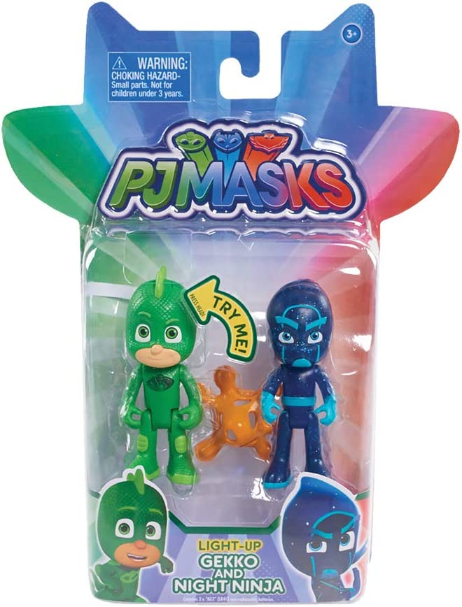 Amazon.com: Just Play PJ Masks, 2 unidades de figuras ...