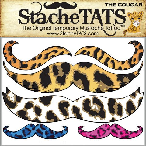 STACHE TATS - The Cougar