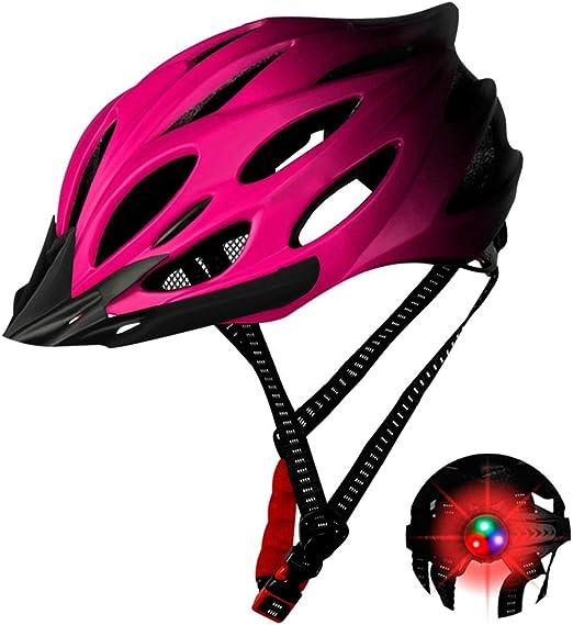 QoFina Casco de Bicicleta para Adultos, West Biking Ciclismo Casco ...