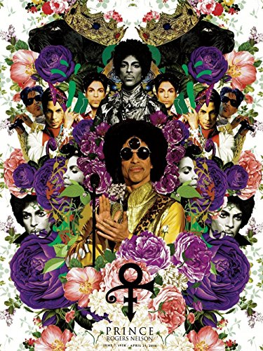 "777 Tri-Seven Entertainment Prince Poster Music Art Photo Print Commemorative, 18"" x 24"", Multi-Color"
