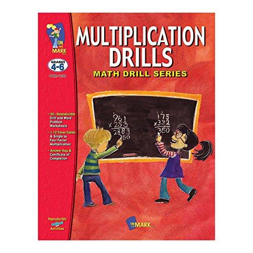 On the Mark Press OTM1130 Math Drill Book Series, Multipl...