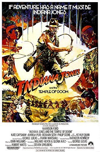 Posters USA - Indiana Jones and the Temple of Doom Movie Poster GLOSSY FINISH) - MOV060 (24