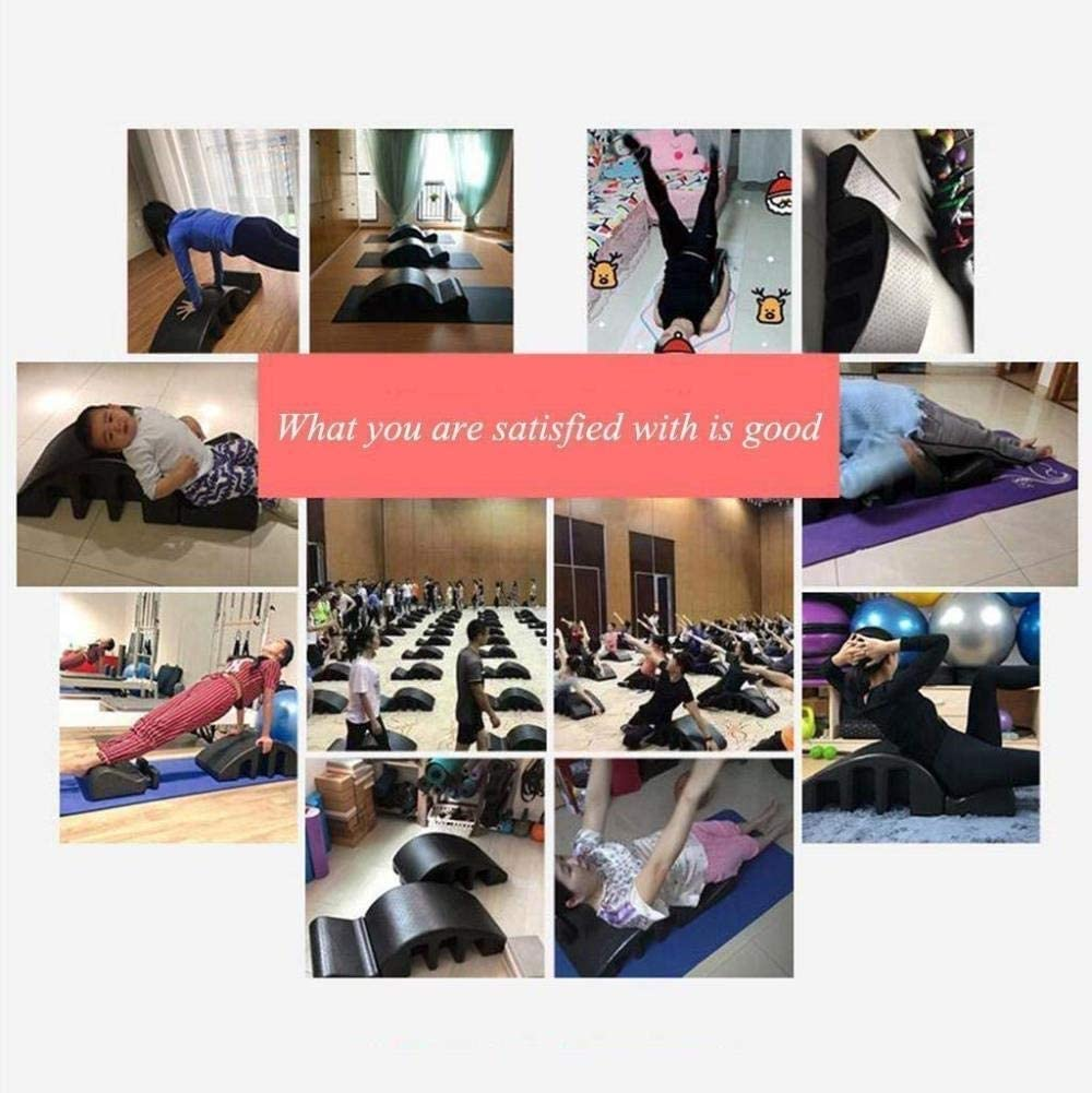 Spine Supporters Pilates Spine Yoga Spinal Orthosis Pilates Reformer Pilates Massage Bed Deformity Cervical Correction Yoga Foam Kyphosis Correction Fitness Equipment Pilates Curved Detachable