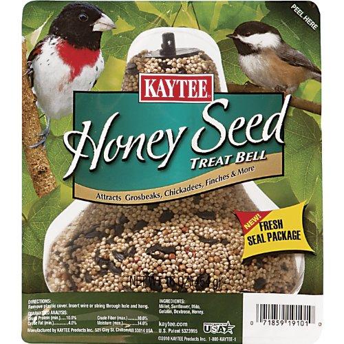 Kaytee Honey Seed Treat Bell, 1-Pound, My Pet Supplies