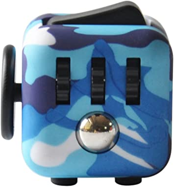 Highline Fidget Cube Fidget Toy for ADD and Stress Relief Fidget Sensory toys for Adults and Children Camo