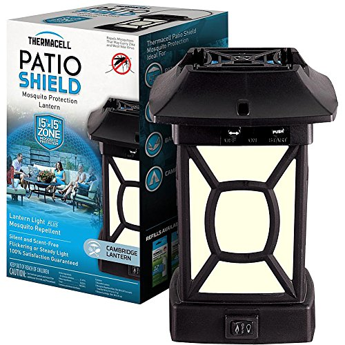 - Thermacell Patio Lantern Multiple Insects Deet 15 ' X 15 '