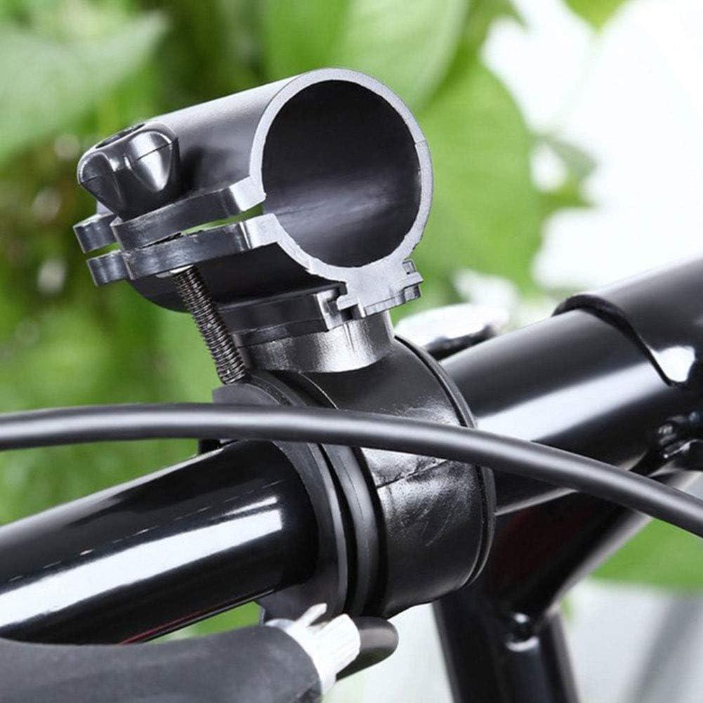 ENticerowts Soporte para Linterna de Bicicleta Ajustable con ...