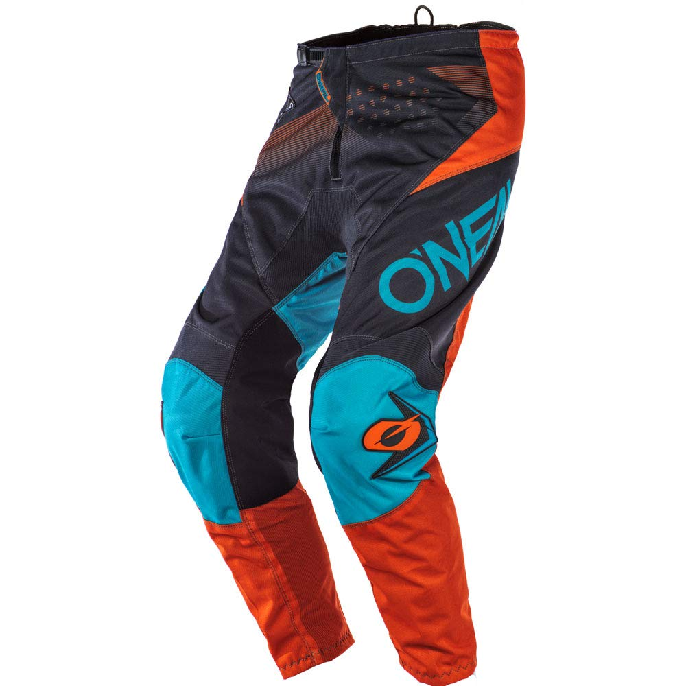 ONeal Element Racewear Red Men motocross MX off-road dirt bike Jersey Pants combo riding gear set Pants W32 // Jersey Large