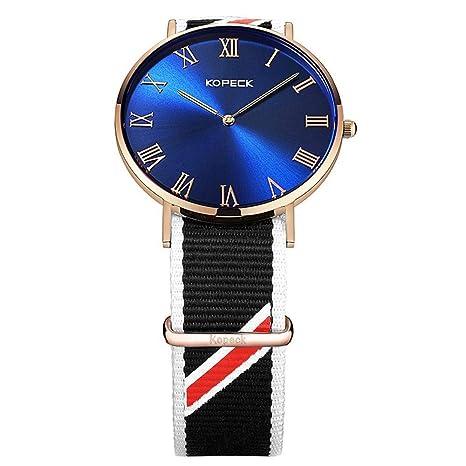 North King Mostrar la Fecha de los Relojes de Cuarzo Unisex Reloj Relojes Bonitos para Regalo