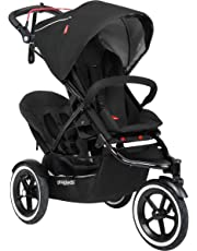 phil & teds Sport Stroller with Doubles Kit, Black
