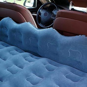 Josietomy camping cami/ón de relleno de cama mini SUV Compact de Fine Cosy hinchable de asiento trasero de vacaciones Colch/ón hinchable de coche con viaje de bomba