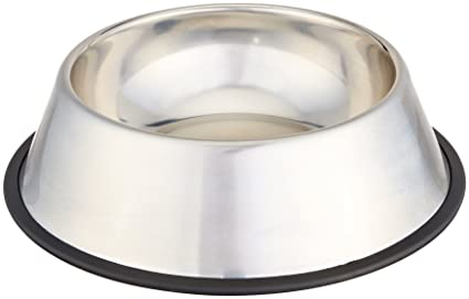 Image Unavailable. Image not available for. Colour  AmazonBasics Stainless  Steel Dog Bowl 8c3b4719b